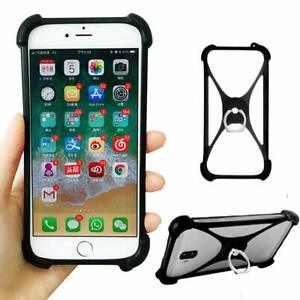 For Archos/Lenovo -Phone Protection Silicone Case Back Cover Bumper Stand Holder