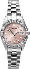 Sekonda Ladies Watch 2308 Pink Dial Stainless Steel Bracelet RRP £39.99