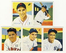 2014 Historic Autographs National Convention 5-Card Diamond Stars Set -Babe Ruth