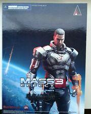 Mass Effect 3 Shepard Play Arts Kai Action Figure
