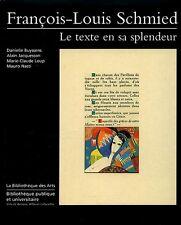 Swiss Bk Francois-Louis Schmied Art Deco Book Design