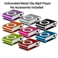 32GB Mini Clip Metal USB MP3 Player Support Micro SD TF Card Music Media Black