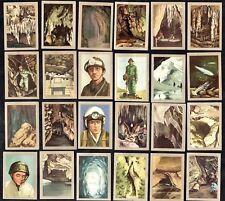 Caving & Pot Holing 1958 Jacques Card Set Speleologie Loubens Lepineux Cave Dive