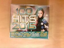 BOITIER 5 CD / 100 HITS 2015 / NEUF SOUS CELLO