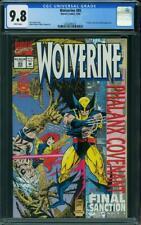 Wolverine #85 CGC 9.8 -- 1994 -- Jean Grey, Cyclops.  #2052845012