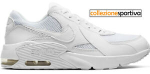 air max leather bianche donna