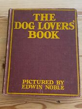 More details for rare antique colour illustrated dog book