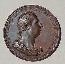 GEORGE III COPPER  MEDAL 1801