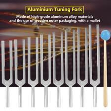 8x Aluminium Stimmgabel Kit Medizinisch Stimmgabel Tuning Fork Für Healing Sound
