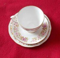 DUCHESS CHINA TRIO ( TEA CUP + SAUCER + TEA PLATE ) SUMMER GLORY