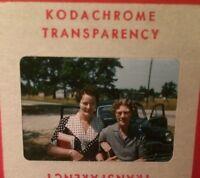 Vintage Women 35mm Kodachrome Slide