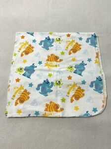 Disney Baby Monsters Inc On The Go Cotton Flannel Receiving Blanket