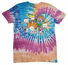 Nickelodeon Rugrats Tie Dye 80s 90s Cartoon T-shirt Vintage Retro Tee New