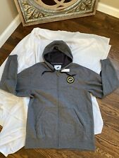 One Industries  Full Zip Hoodie size medium M gray graphic sweatshirt hoody