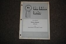 "IH ""BLUE RIBBON"" 38 INCH ROTARY MOWER FOR CUB CADET SERVICE MANUAL (GSS-1332)"