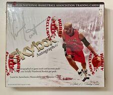 2003-04 Fleer Skybox Autographics Hobby Box Factory Sealed - LeBron James RC?