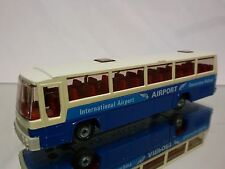 EFSI TOYS SCANIA  BUS TOURINGCAR - AIRPORT AMSTERDAM -  WERBE - GOOD CONDITION