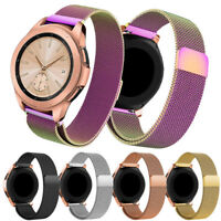 Luxury Milanese Stainless Steel Watch Band Clasp For Samsung Galaxy Wrist 42mm
