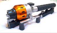 INSTANT FISHERMAN 2 Telescopic Fishing Rod & Reel Travel Rod Sea Fishing Rod