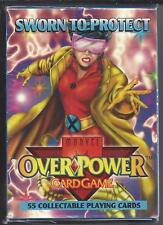 Over Power Sworn To Protect Card Game Booster Box 55 Cards