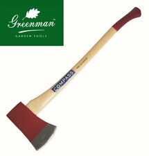 Traditional Axe 7 lb Chopping Felling High Quality Greenman Dropped Forged Steel