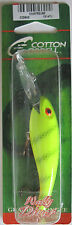 "Cotton Cordell  Wally Diver - 1/2 oz. - 3-1/8"" - Chartreuse Perch"