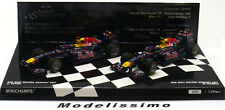 1:43 Minichamps Red Bull RB7 World Champion Set Vettel/Webber 2011