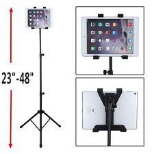 US SHIP Adjustable Tripod Stand Holder Bracket For iPad 1 2 3 Tablet FLOOR MOUNT