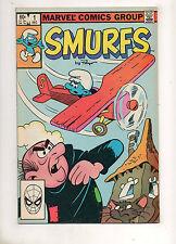 SMURFS #1 1982 Marvel 1ST PRINTING! 1ST APP The Smurfs in Comics! Fine+ 6.5
