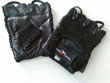 Mesh Back Weight Lifting/Cycling Gloves Padded Hand Protection Gym Size X Large