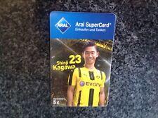 Aral 5€ Supercard  Shinji Kagawa BVB Tankkarte Gutschein Sammerstück :-)