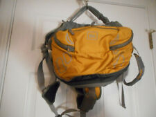 New listing Rei Doggie Backpack/Harness/Pack Size L Yellow & Gray