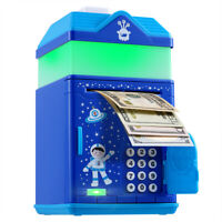 OYE HOYE Password Piggy Bank with LED Night Light & Music for Boys and Girls.