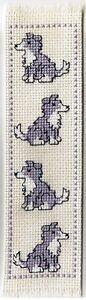 A Cross Stitch Kit - Dog Bookmark