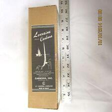 """Orlux Lorraine Negative 8mm x 9"""" Cinema Carbon Arc Rods Case of 250 pcs"""