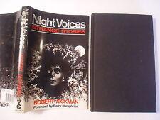 Night Voices, Robert Aickman, DJ, 1985, 1st Edition