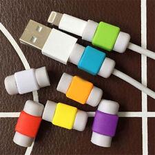 10 stk USB Datenkabel Ladekabel Tasche Saver Protector für iphone Neu