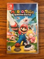 Mario + Rabbids Kingdom Battle, Nintendo Switch, Brand New, FAST FREE SHIPPING!