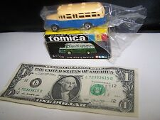 Tomy Tomica Made in Japan 6 Isuzu Bonnet Type Bus - NEW