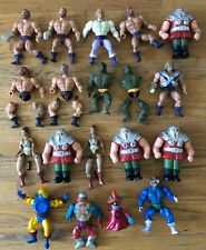 Vintage 1980s Mattel MOTU He-Man Masters of the Universe 19 x Hero Figures Lot