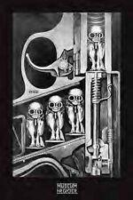HR GIGER POSTER (91x61cm) BIRTH MACHINE GUN NEW LICENSED ART