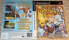"""Dédicacé Monkey island PS2 couverture signée par Dominic armato """"Guybrush"""""""