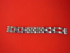 SWATCH  x IRONY BIG o IRONY MEDIUM - NEW strap STAINLESS STEEL cinturino