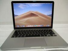 """Macbook Pro A1502 RETINA 13"""", Mid 2014, Intel i5-2.6 GHz, 8GB Ram, 256gb SSD M,"""