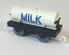 Thomas the Tank Engine Train Set Milk Tanker Carriage Track master
