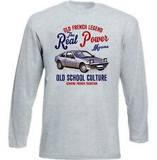 Vintage french voiture Simca Matra Murena-Nouveau T-shirt en coton
