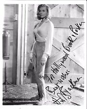 *GOLDFINGER (1964) 8x10 Photo of Pussy Galore INSCRIBED BY HONOR BLACKMAN