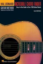 Incredible Chord Finder 6in; x 9in; Edition - Hal Leonard Guitar Metho 000697200