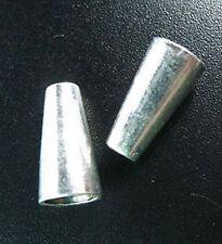 20pcs Tibetan Silver Long Bicone Spacer Beads T803