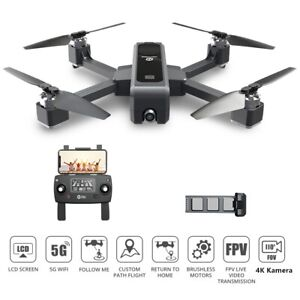 Holy Stone RC FPV GPS Drohne mit 4K FHD Kamera Faltbar Bürstenlos Quadcopter